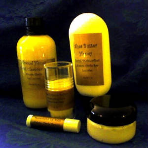 Shea butter and Honey Moisturizers for dry skin